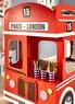 Кровать 2х ярусная Лондонский автобус 513.000